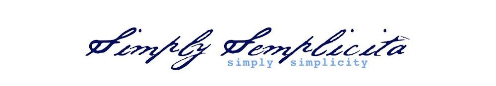 Simply Semplicitá