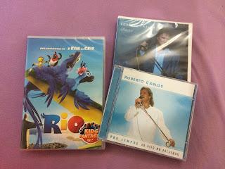 presentes para americanos - dvds
