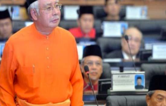 Najib tak jawab soalan, Dewan Rakyat kecoh
