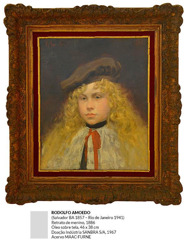 Rodolfo Amoedo - Retrato de Menino