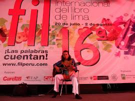 ENCUENTROS ARTÍSTICOS - ROSA DE FUEGO en la FIL 2011