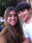 Mamãe Kamila e Seu filhote Pedro de Uberlândia.
