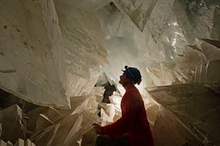 Hiigelseleniidid Naica koopas, Mehhikos
