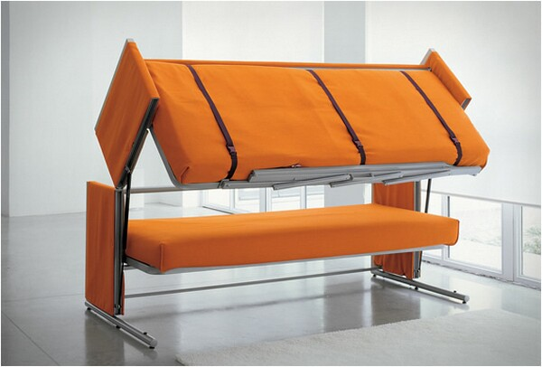 Sofa Bunk Bed - Convertible Sofa Bed