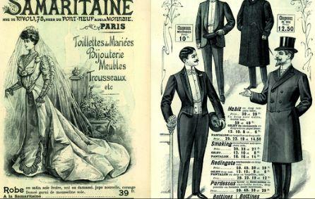 La mode au fil de l 39 histoire la naissance de la haute for Catalogue de jardinage par correspondance