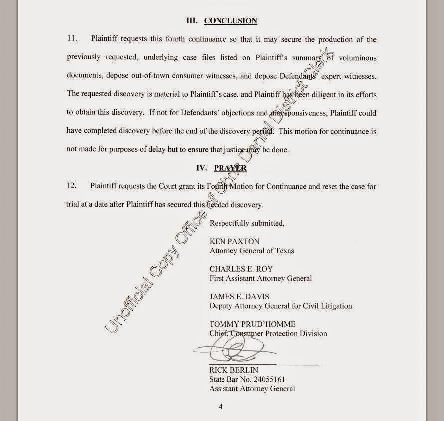 Consumer Debt Litigation (Texas): Consumer Protection Division of ...