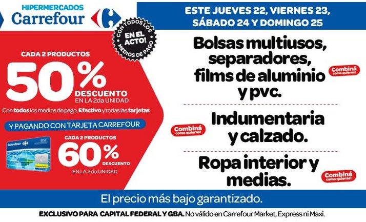 Ofertas y promos en argentina ofertas carrefour - Ropa interior carrefour ...