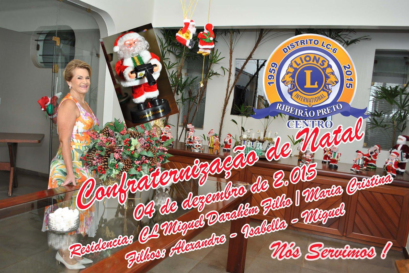CONFRATERNIZAÇÃO DE NATAL 2015
