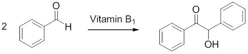 synthesis of benzoin by cyanide and thiamine lab report