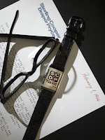 SCDP Watch & Letter, Jaegeur-LeCoultre