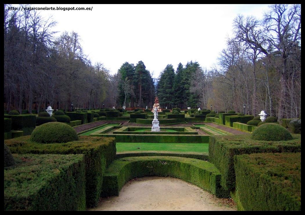 Las ocho calles en los jardines del palacio de la granja for Jardines de san ildefonso