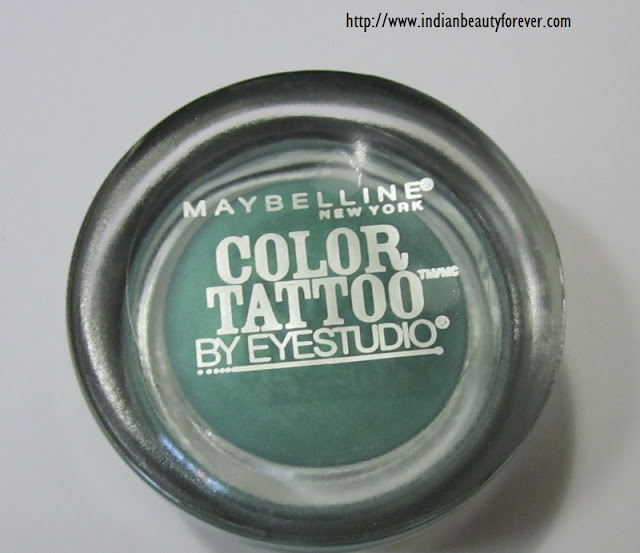 Maybelline color tatoo edgy emerald