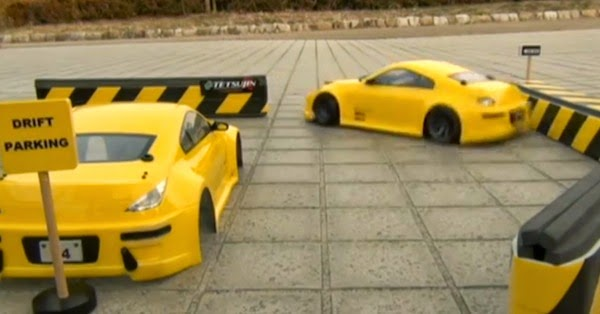 radio control car drift parking