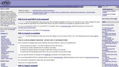 PHP, Programming Language