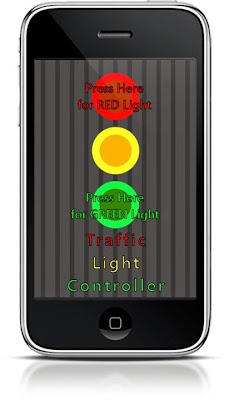 Traffic Light Controller Joke App
