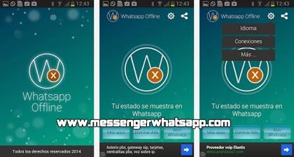 Oculta tu estado en línea con WhatsApp Offline