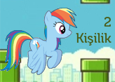 2 Kişilik Flappy Little Pony