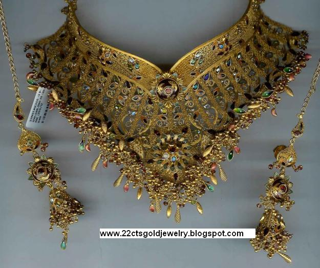 Bridal Collection Jewellery: Gold Jewellery Designs: Bridal Jewellery Wedding Collection