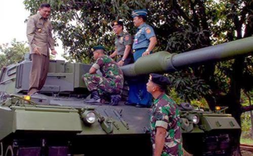 Wamenhan tinjau Leopard TNI AD