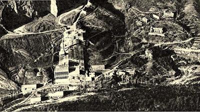 vista aerea fabrica asland clot del moro cemento tren guardiola castellar n'hug berga