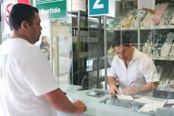 EL IMSS ENTREGA RECETAS RESURTIBLES A PACIENTES CONTROLADOS.