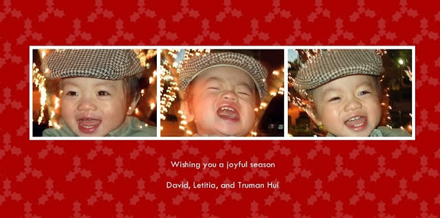 Joyful Holiday Card 2007