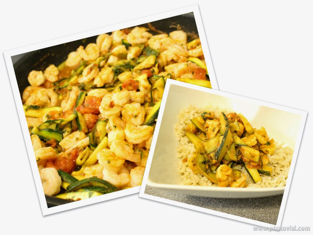 Weight Watchers Simple Start Prawn and Courgette Curry