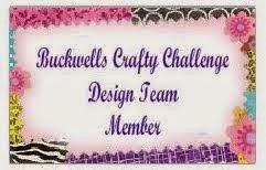 Buckwells Crafty Challenge Design Team Member
