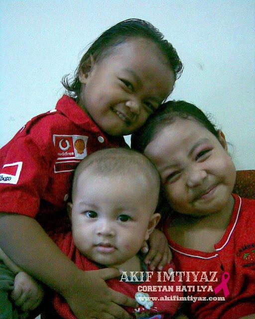 Nur Aina Insyirah,Muhammad Adam Iman & Muhammad Akif Imtiyaz