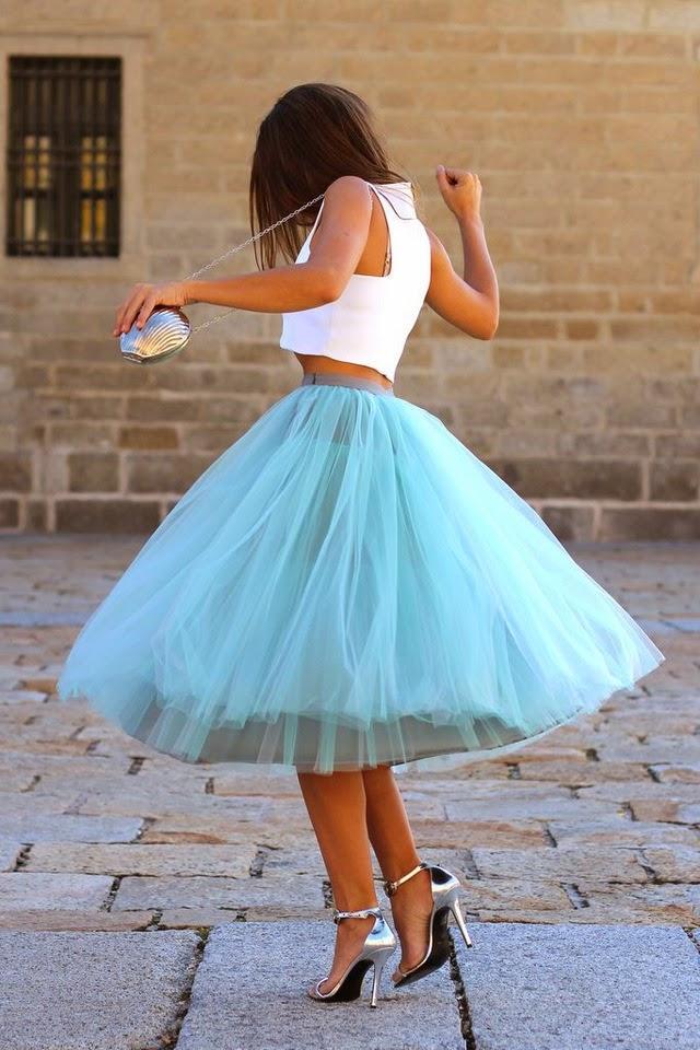 Сколько ткани пышная юбка