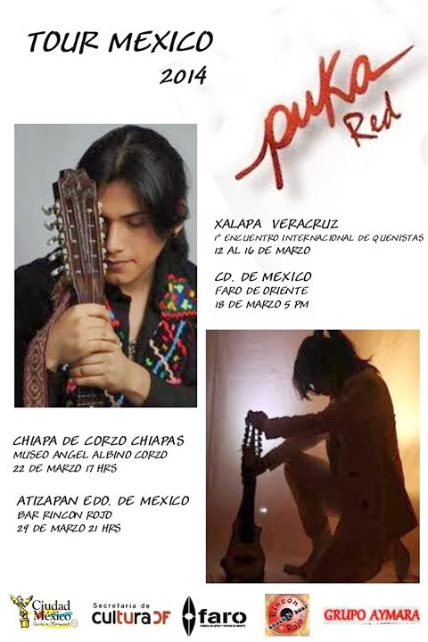 PUKA RED - TOUR MEXICO 2014