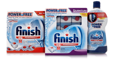 New Coupon: $2/1 Finish Power and Free Detergent OR Rinse Aid (RESET) + Stackable Target Coupon!