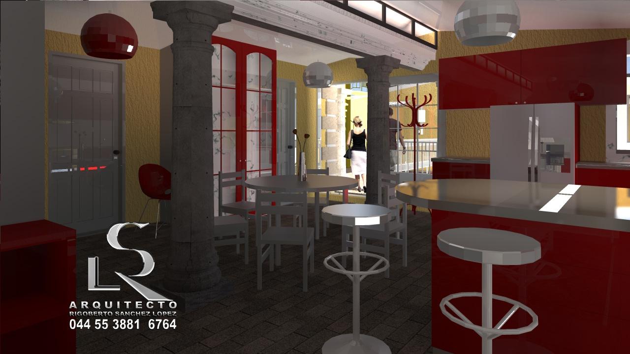 Proyecto arquitectonico de casa habitacion en 3d
