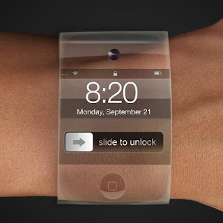 Potential design iWatch by Apple.