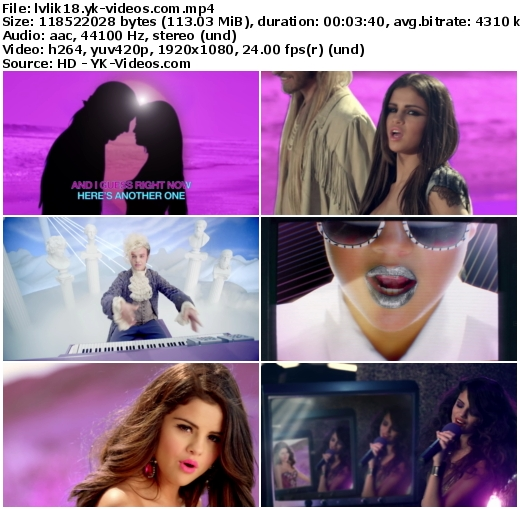 Love you like a love song selena gomez the scene hd 1080p mv