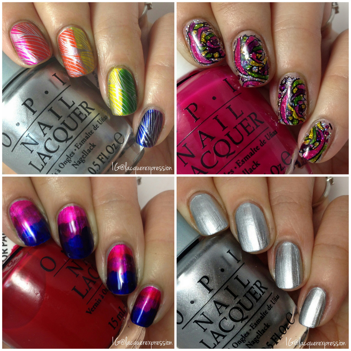 Swatch and Review - OPI Color Paints Collection Part III ...