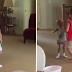 Une fillette de huit ans apprend à son frère à danser, à la 28e seconde.. Vous serez ému aux larmes!
