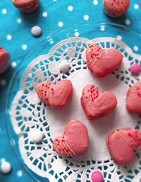 Sydän-macaronit