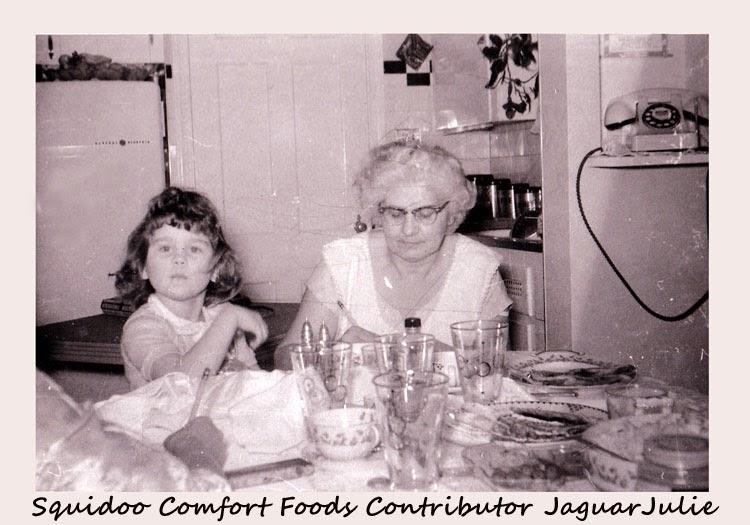 jaguarjulie and grandma julia nagy comfort foods contributor