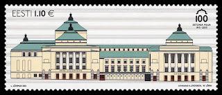 Estonia: Centenary of Estonia Theatre building