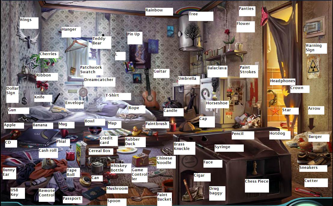 Joeleeq: Criminal Case #4# The Dockyard Killer - Living Room Bonus