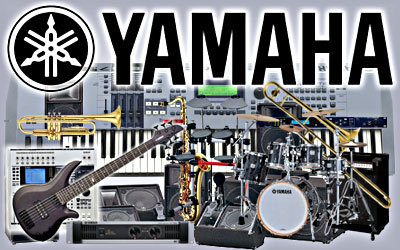 And now many Yamaha products that are world market Yamaha Musical Instruments Logo