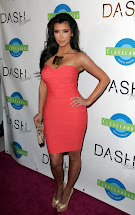 Kim Kardashian Bandage Dress