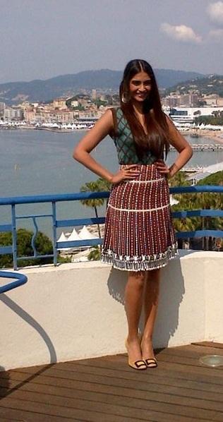 Sonam Kapoor Cannes 2012