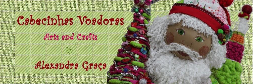 Cabecinhas voadoras - Arts and Crafts
