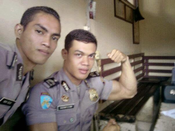 polisi briptu haryanto cakep kekar