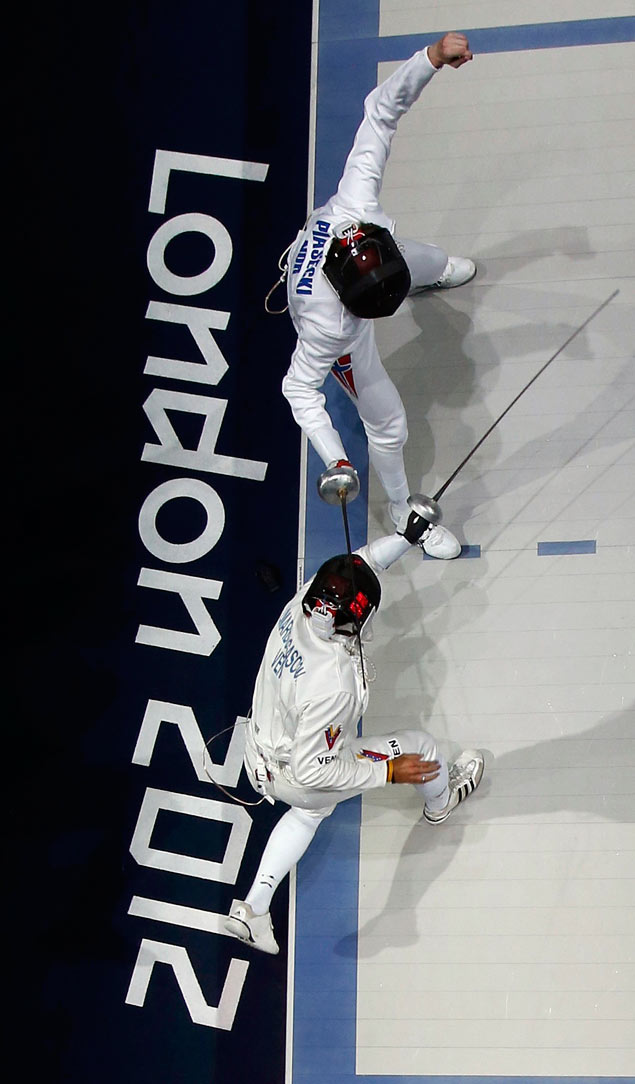 A long and twisted side ponytail