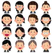 いろいろな女性会社員のアイコン