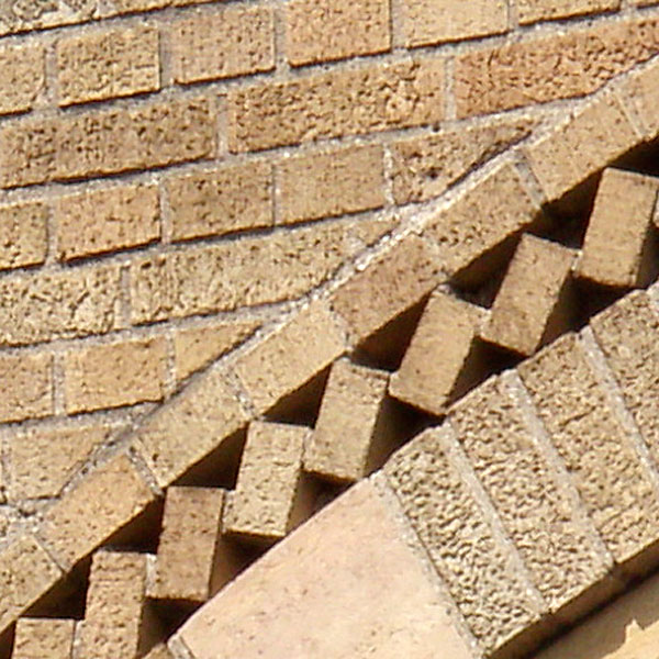 detail from vintage bridge masonry embellishment in Minneapolis Minnesota