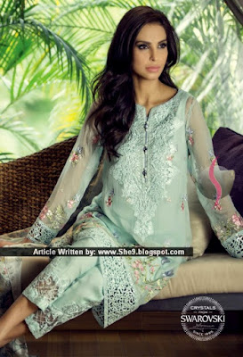 Maria B Embroidered Eid Collection 2015